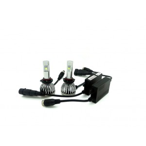 9006 - 3GS LED headlight replacement kit, 10000 Lumen, CREE XHP50 chip