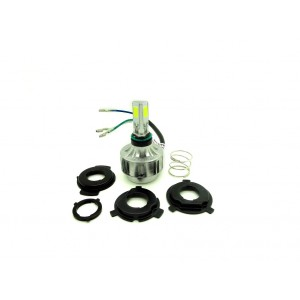 H4 - Motorcycle LED headlight kit H4, 3000 LUMEN, 6000K, 30W